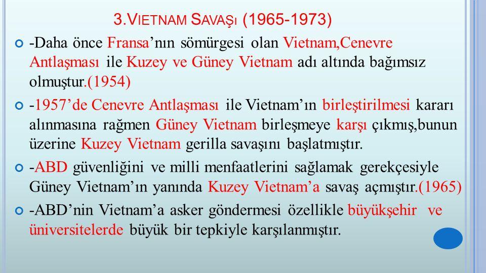 3.Vietnam Savaşı (1965-1973)
