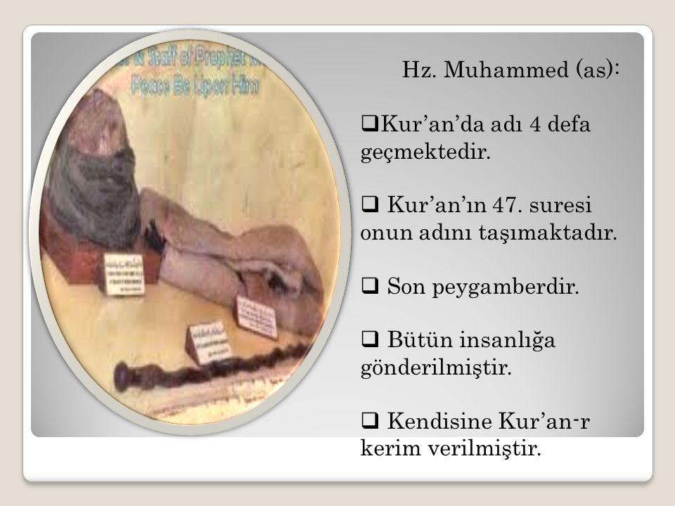 Kur'an'da adı 4 defa geçmektedir.