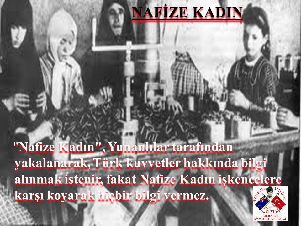 NAFİZE KADIN