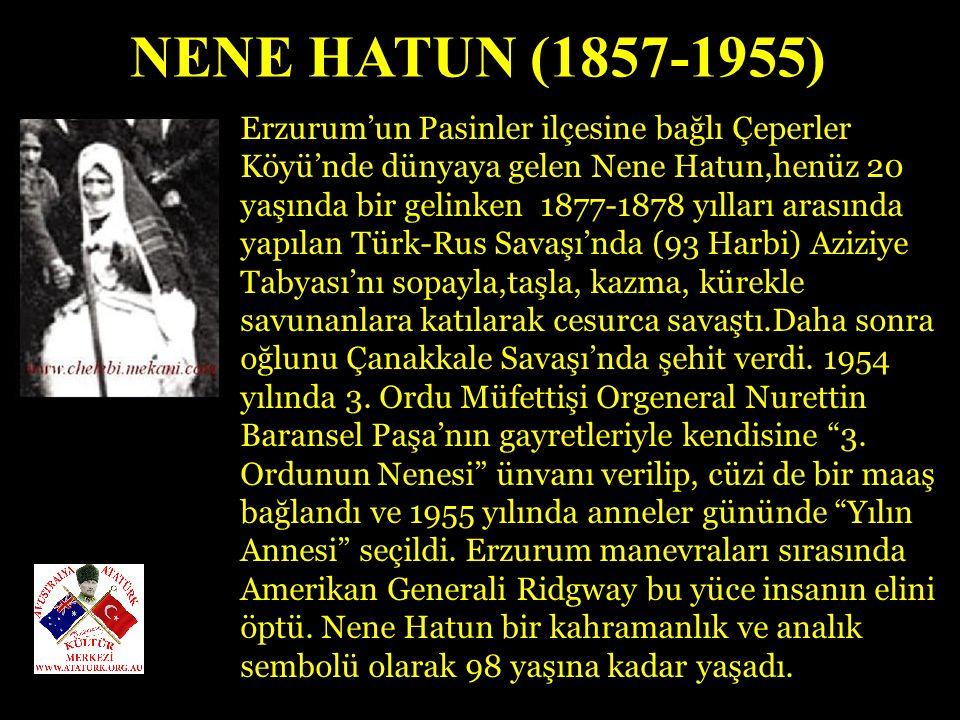 NENE HATUN (1857-1955)
