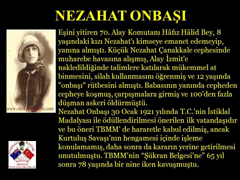 NEZAHAT ONBAŞI