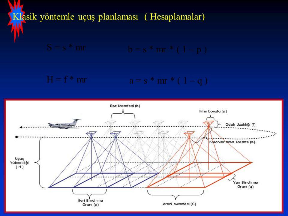 Klasik yöntemle uçuş planlaması ( Hesaplamalar)