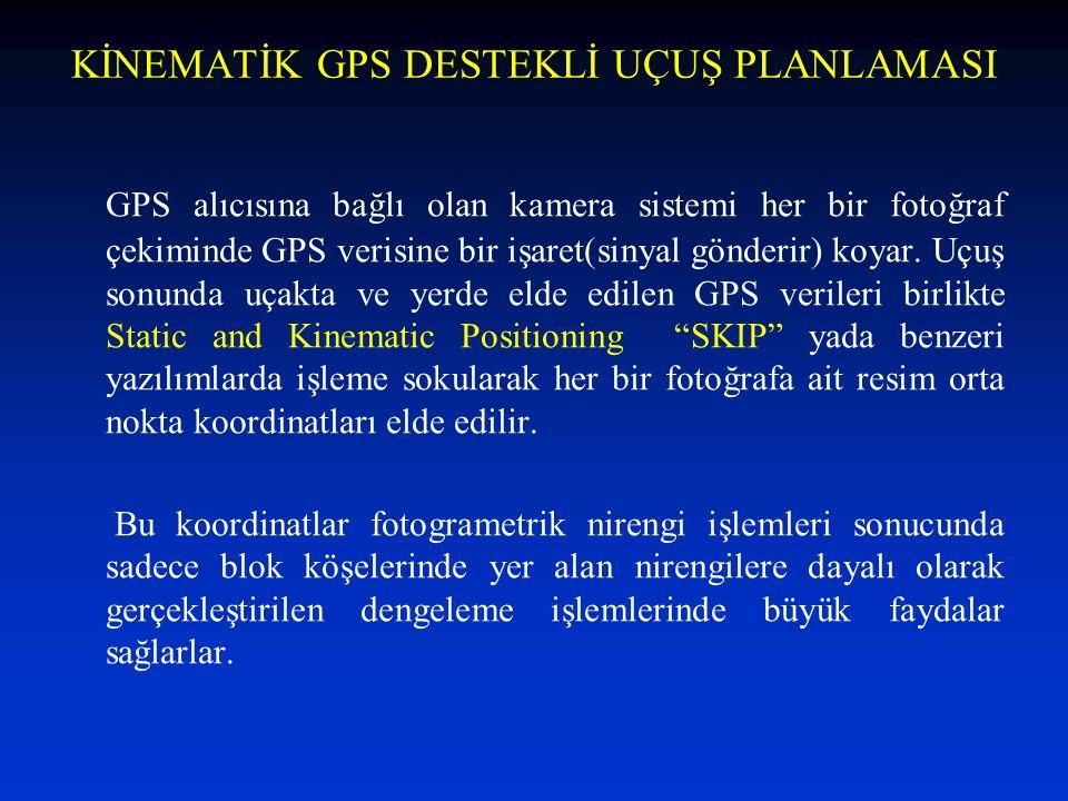 KİNEMATİK GPS DESTEKLİ UÇUŞ PLANLAMASI