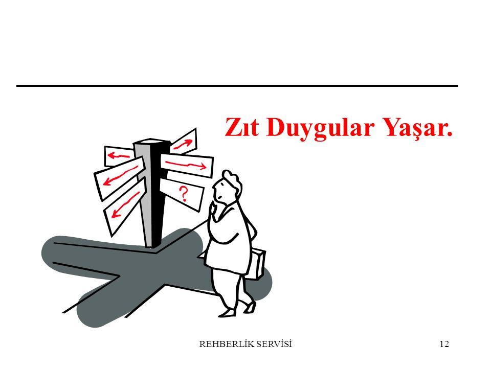 Zıt Duygular Yaşar. REHBERLİK SERVİSİ