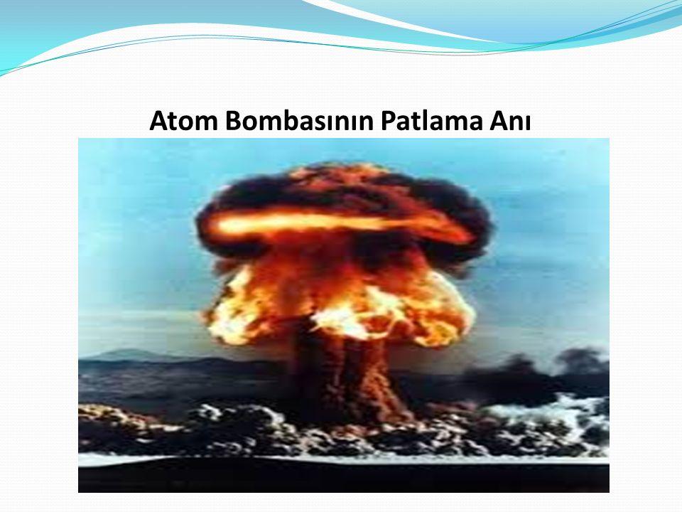 Atom Bombasının Patlama Anı