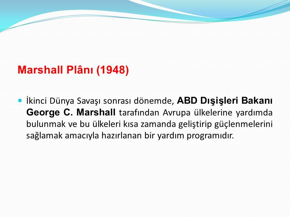 Marshall Plânı (1948)