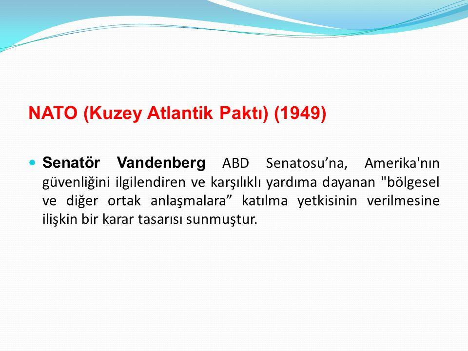 NATO (Kuzey Atlantik Paktı) (1949)
