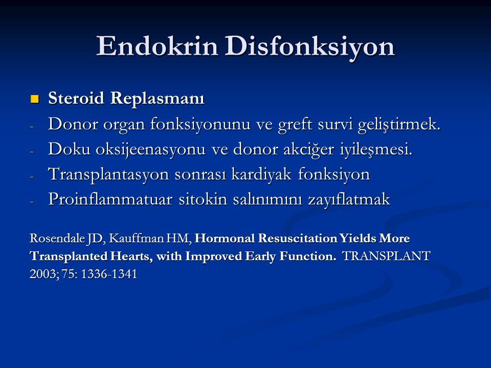 Endokrin Disfonksiyon
