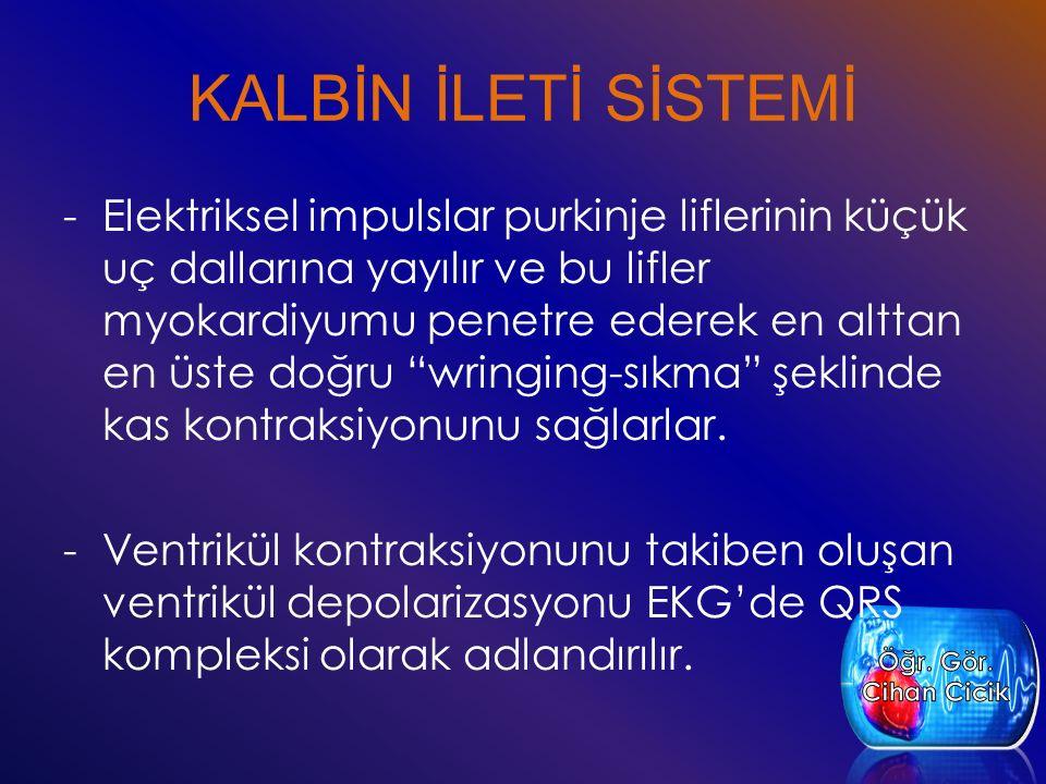 KALBİN İLETİ SİSTEMİ
