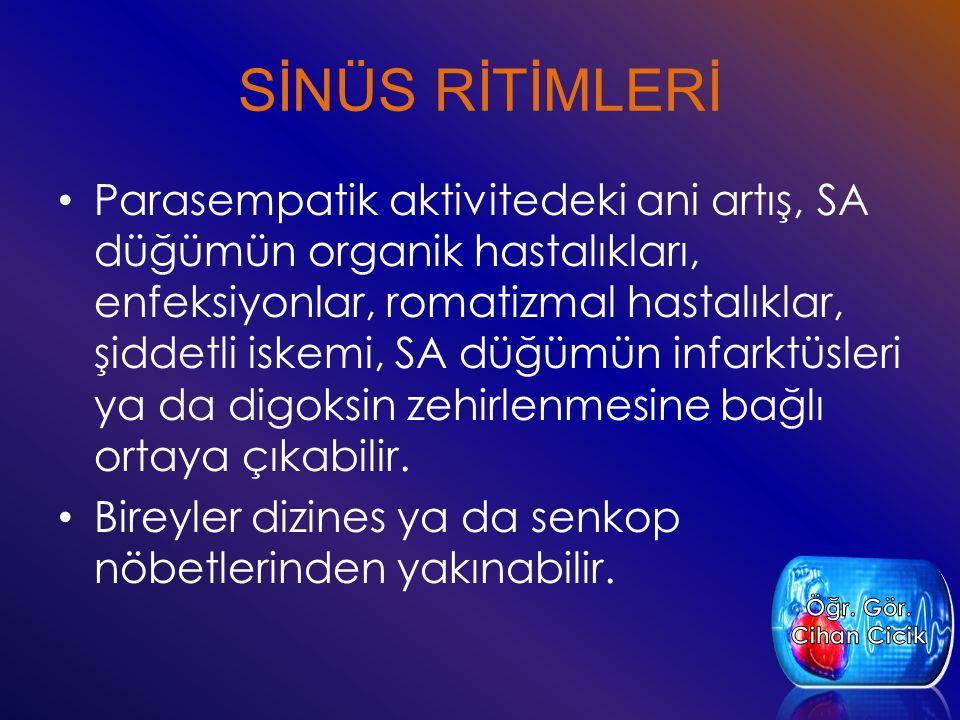SİNÜS RİTİMLERİ