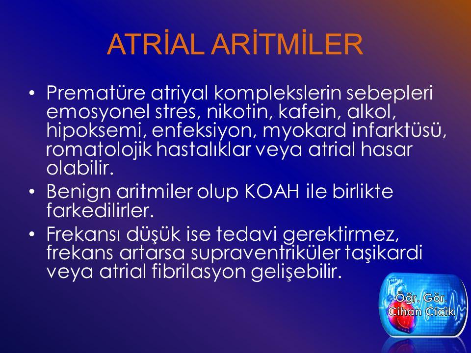 ATRİAL ARİTMİLER