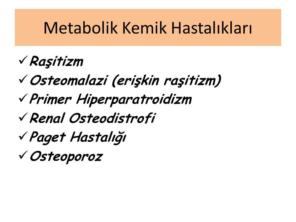 Metabolik Kemik Hastalıkları