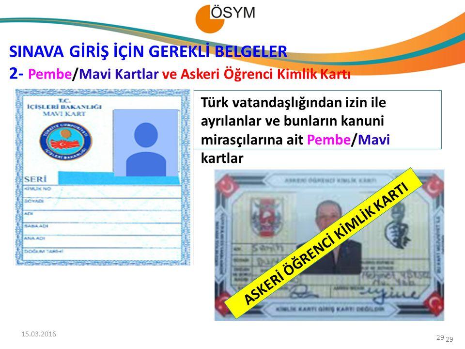 ASKERİ ÖĞRENCİ KİMLİK KARTI