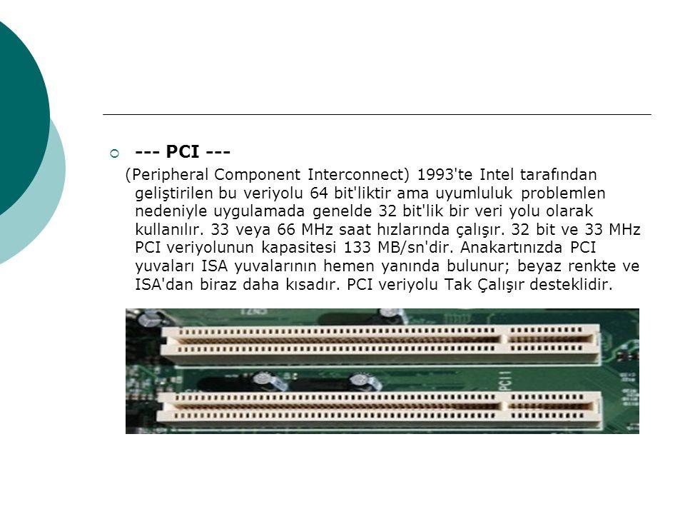 --- PCI ---