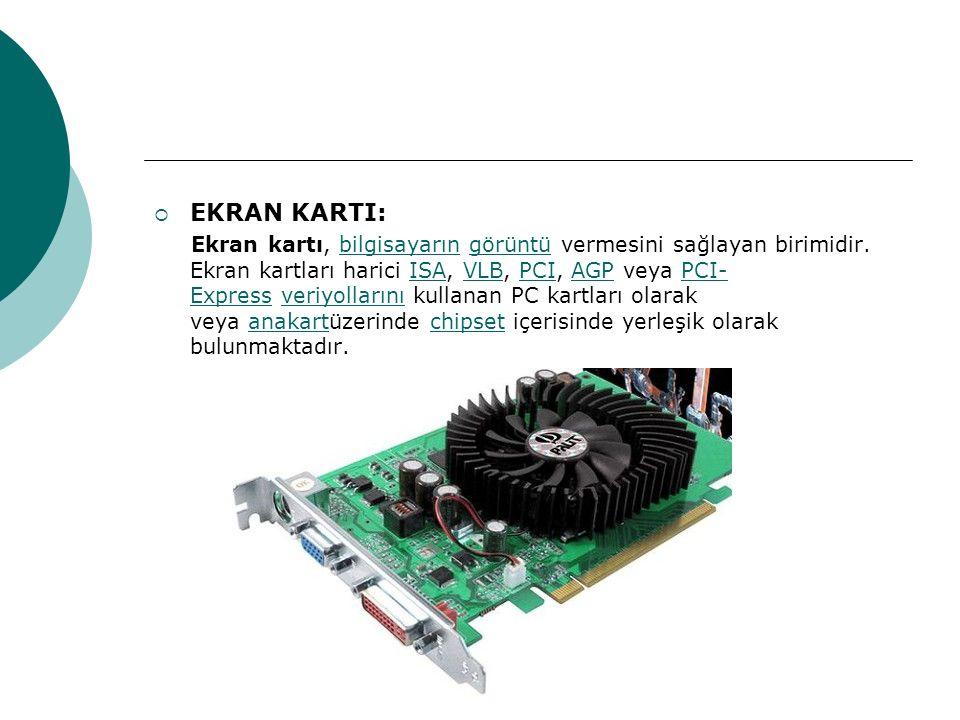 EKRAN KARTI: