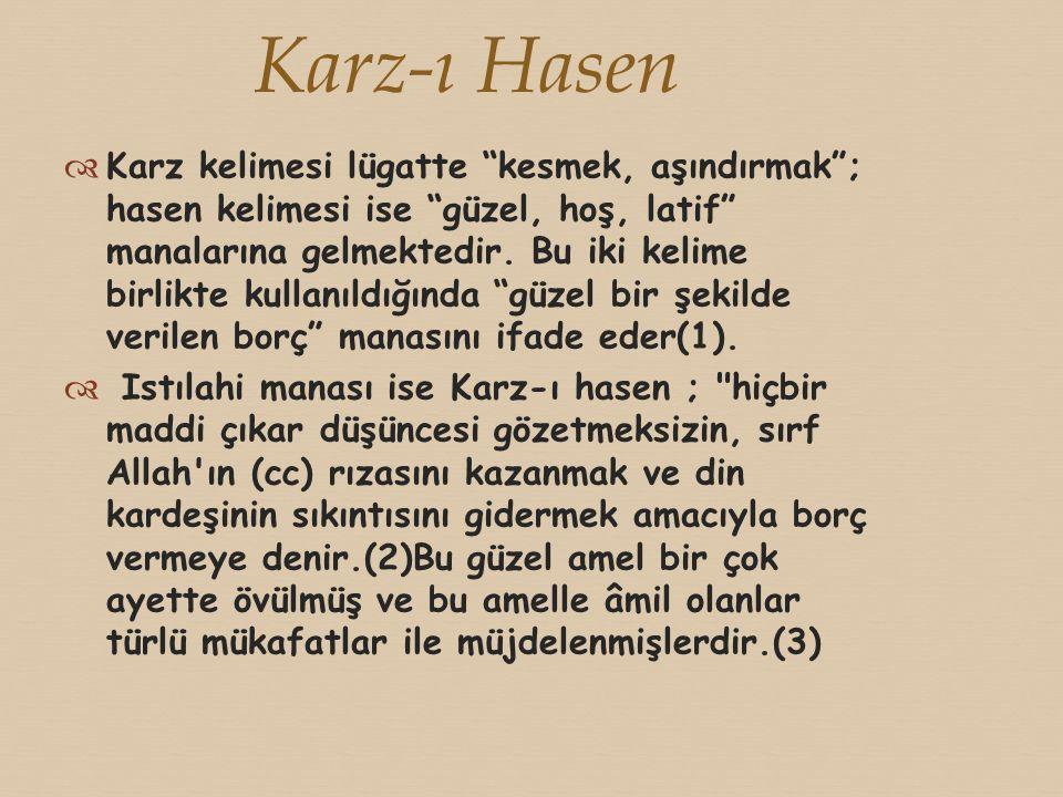 Karz-ı Hasen