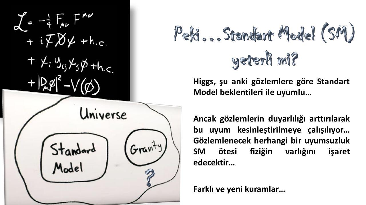 Peki…Standart Model (SM)
