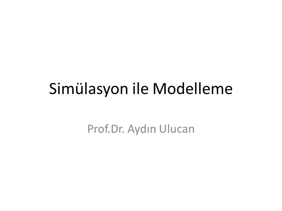Simülasyon ile Modelleme