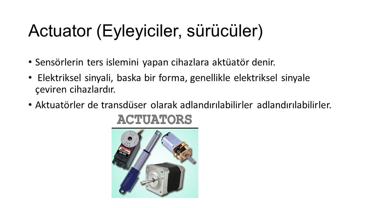 Actuator (Eyleyiciler, sürücüler)