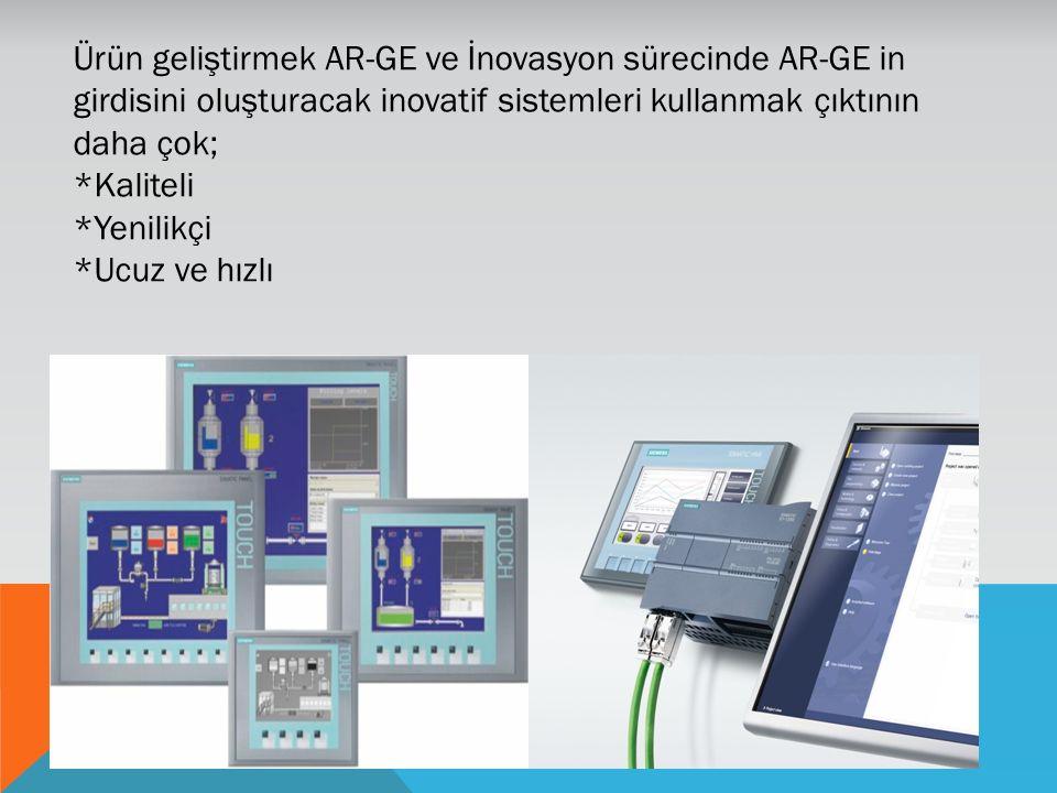 Ürün geliştirmek AR-GE ve İnovasyon sürecinde AR-GE in girdisini oluşturacak inovatif sistemleri kullanmak çıktının daha çok;