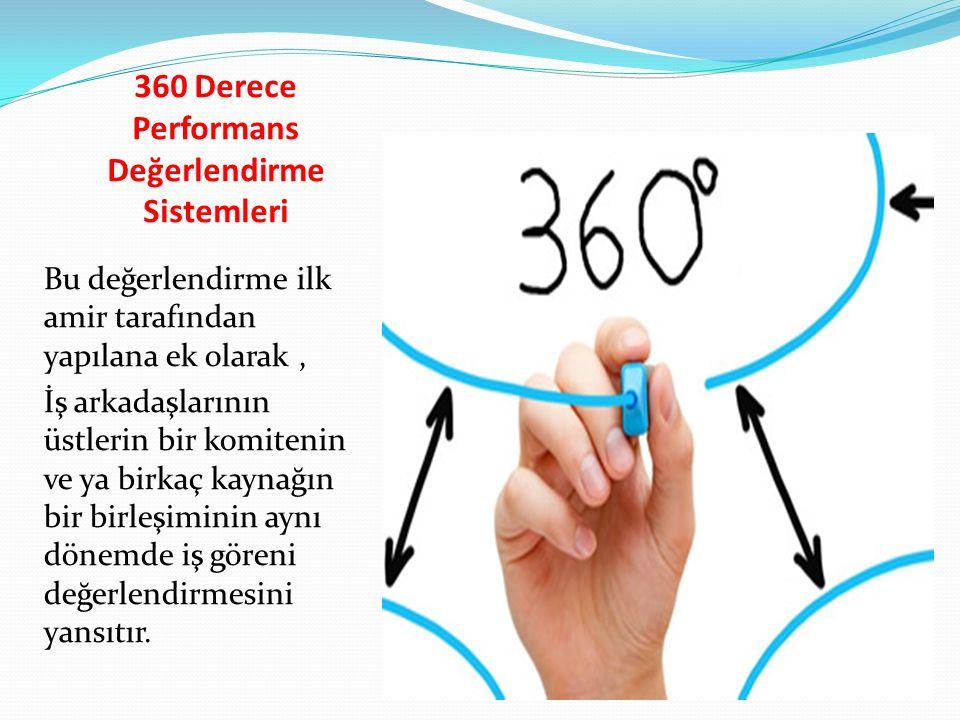 360 Derece Performans Değerlendirme Sistemleri