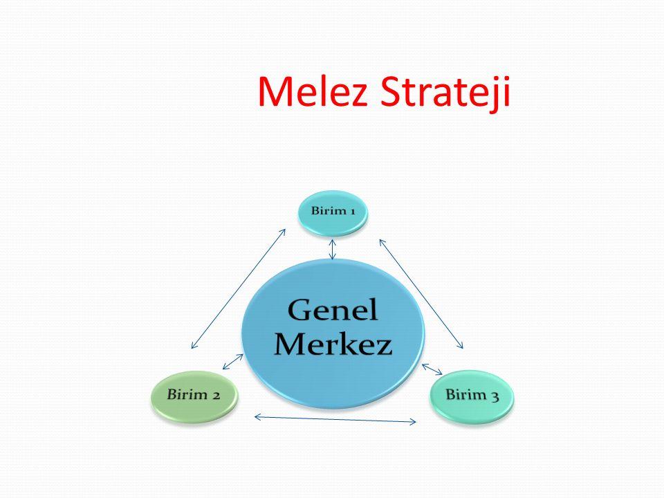 Melez Strateji Genel Merkez Birim 1 Birim 3 Birim 2