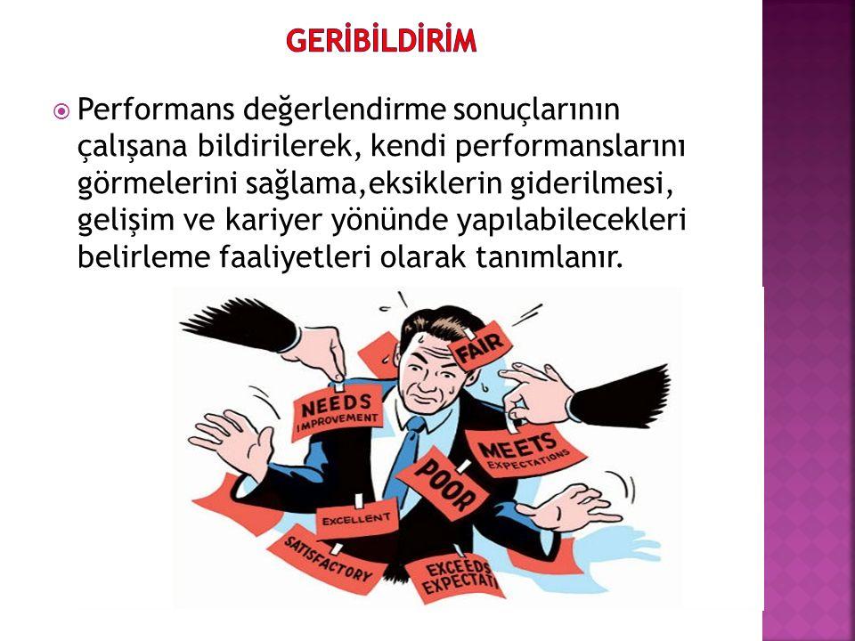 GERİBİLDİRİM