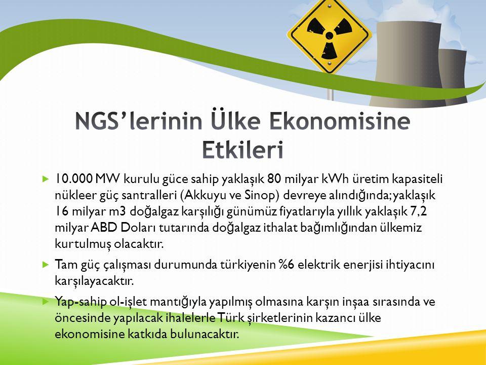 NGS'lerinin Ülke Ekonomisine Etkileri