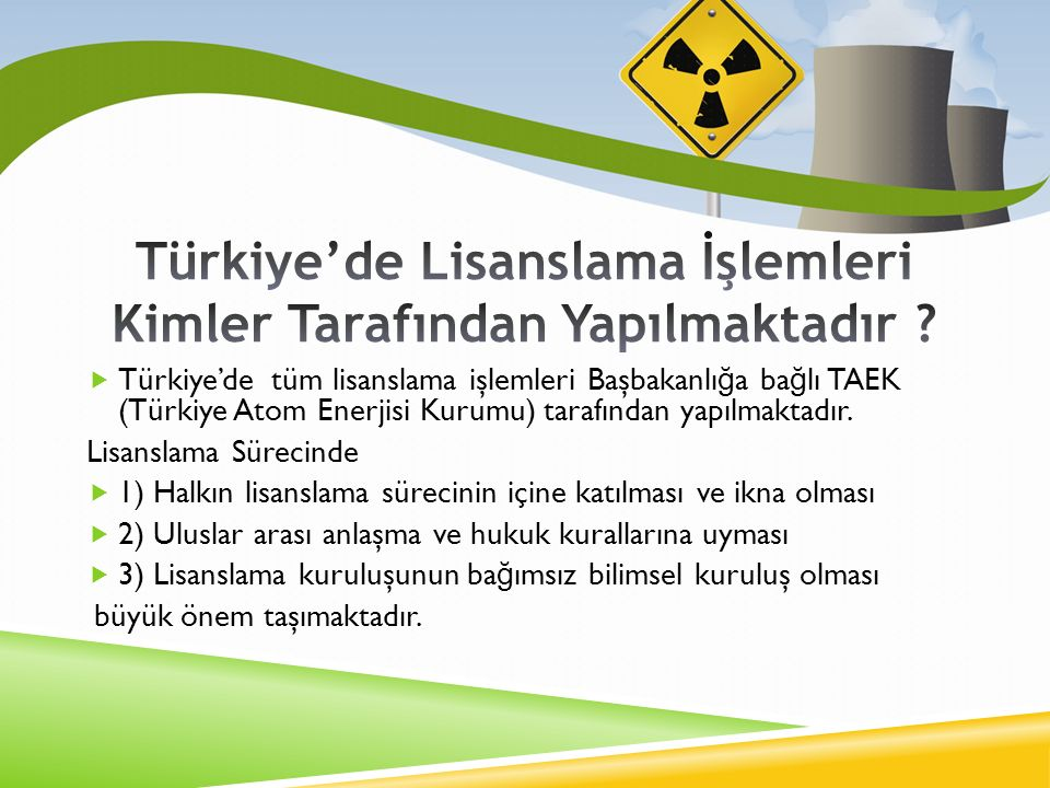 Türkiye'de Lisanslama İşlemleri Kimler Tarafından Yapılmaktadır
