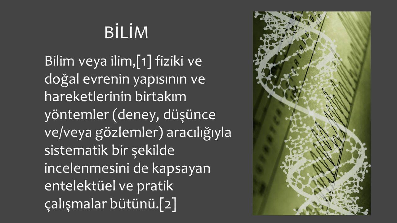 BİLİM