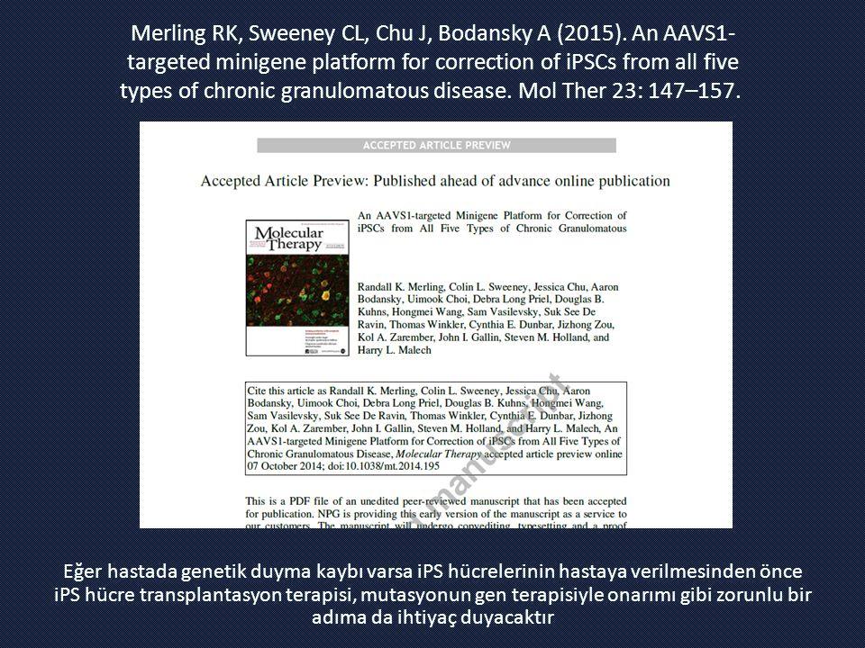Merling RK, Sweeney CL, Chu J, Bodansky A (2015)