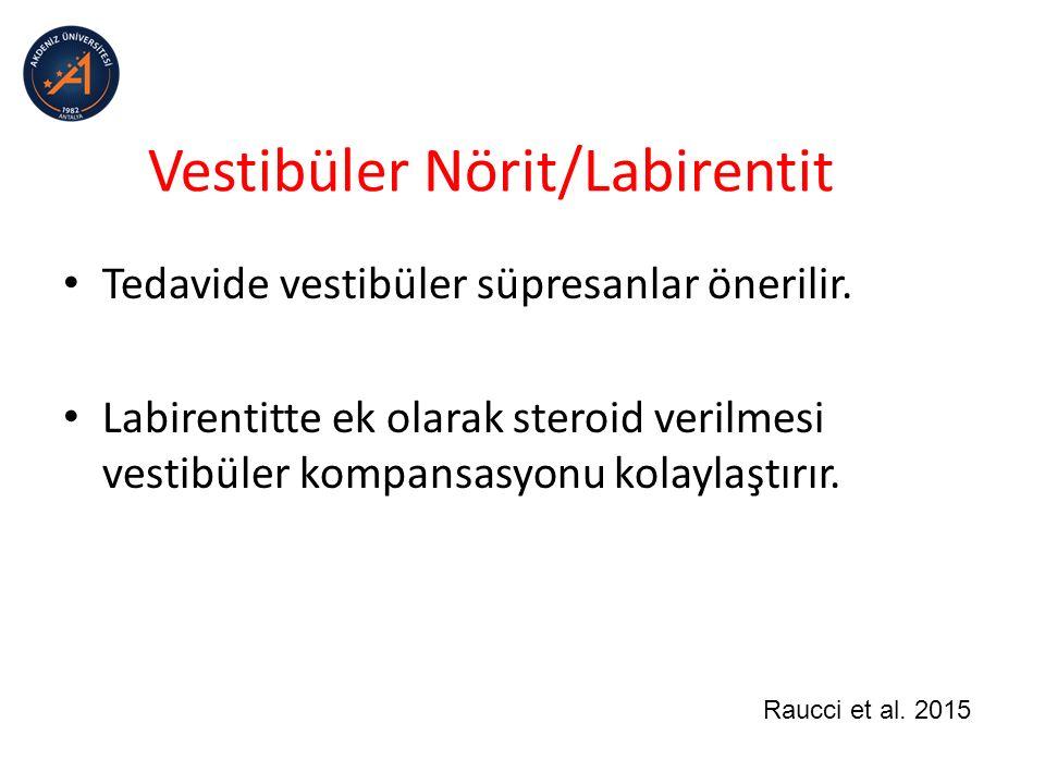 Vestibüler Nörit/Labirentit