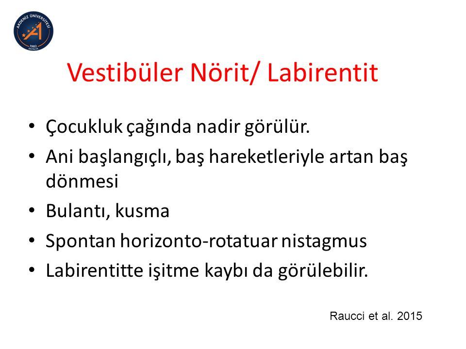 Vestibüler Nörit/ Labirentit