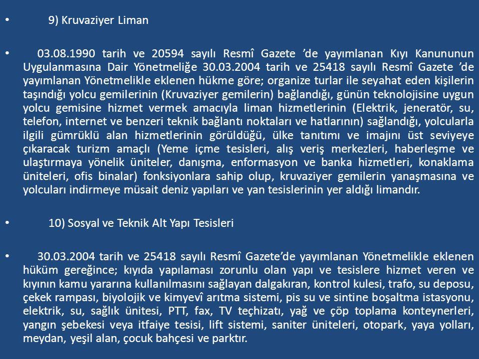 9) Kruvaziyer Liman