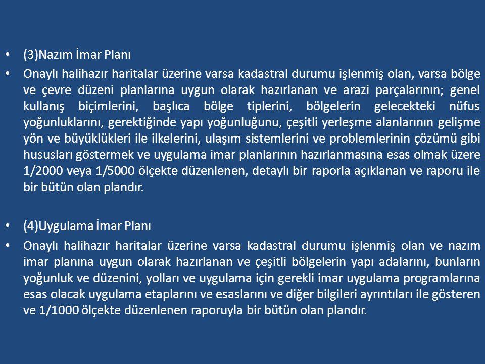 (3)Nazım İmar Planı