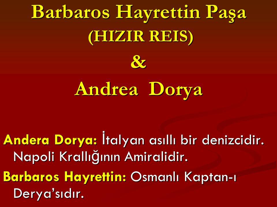 Barbaros Hayrettin Paşa
