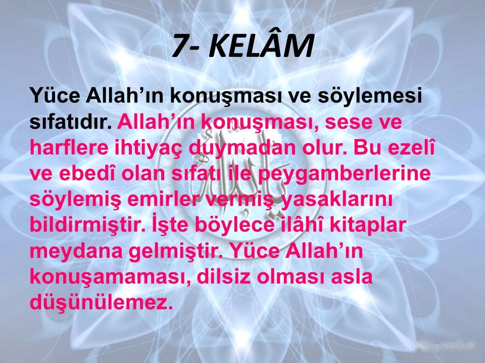 7- KELÂM