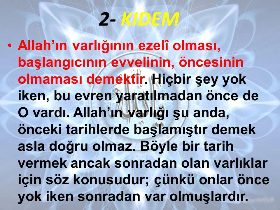 2- KIDEM