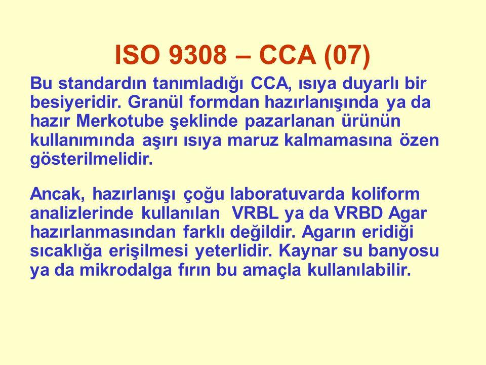 ISO 9308 – CCA (07)