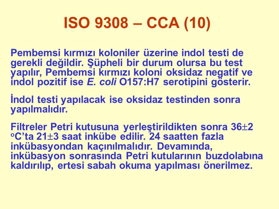 ISO 9308 – CCA (10)