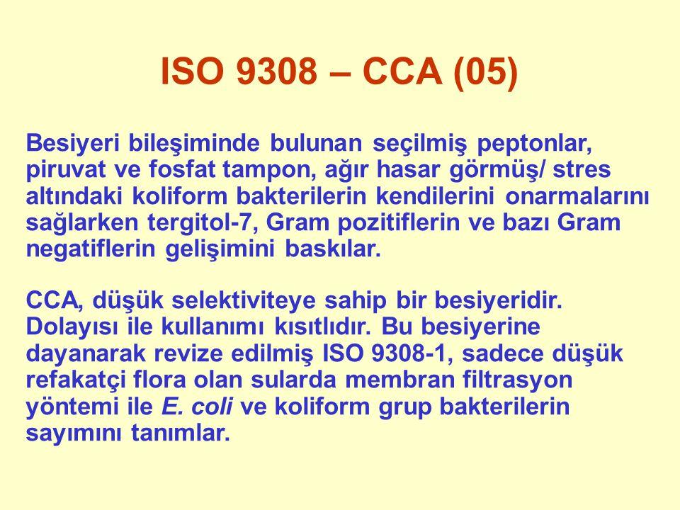 ISO 9308 – CCA (05)