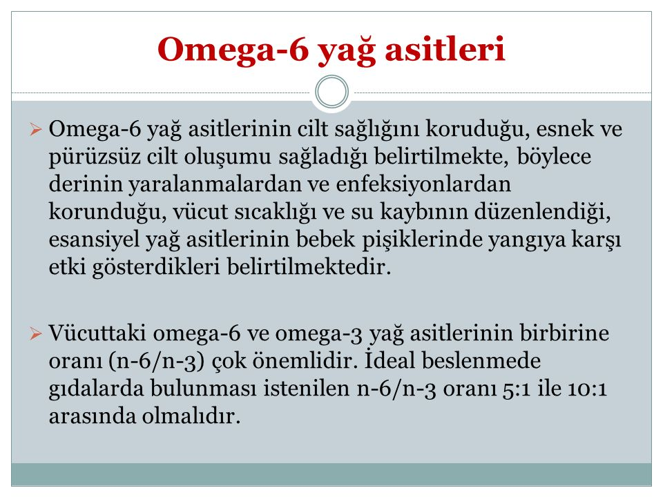 Omega-6 yağ asitleri