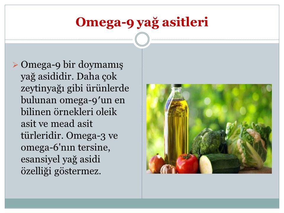 Omega-9 yağ asitleri