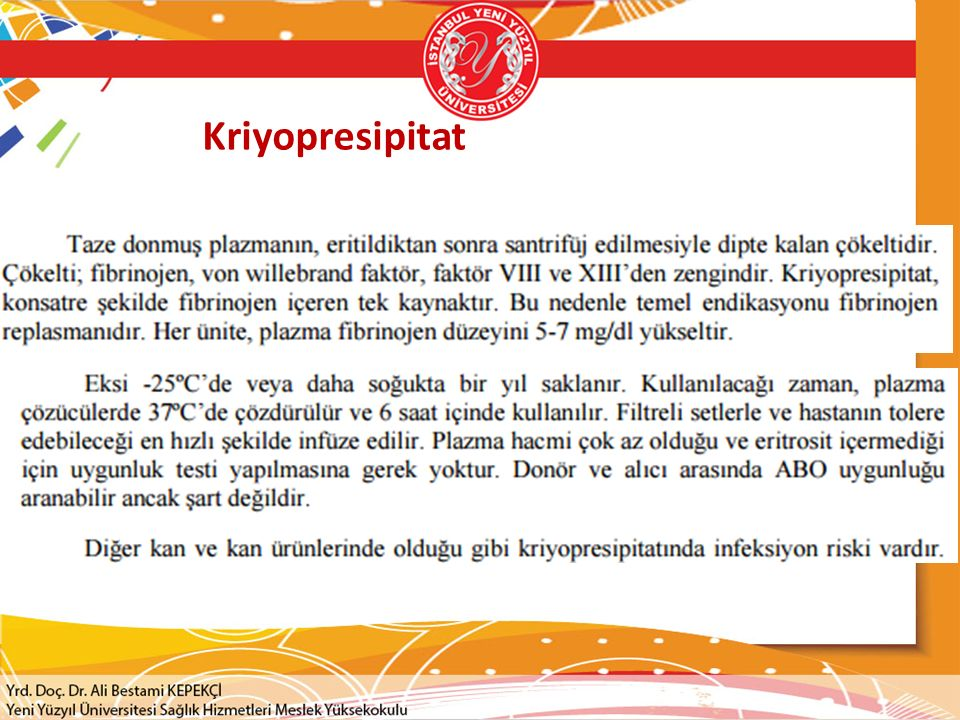 Kriyopresipitat