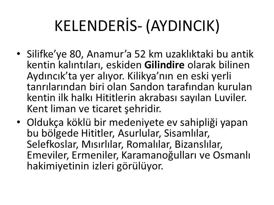 KELENDERİS- (AYDINCIK)