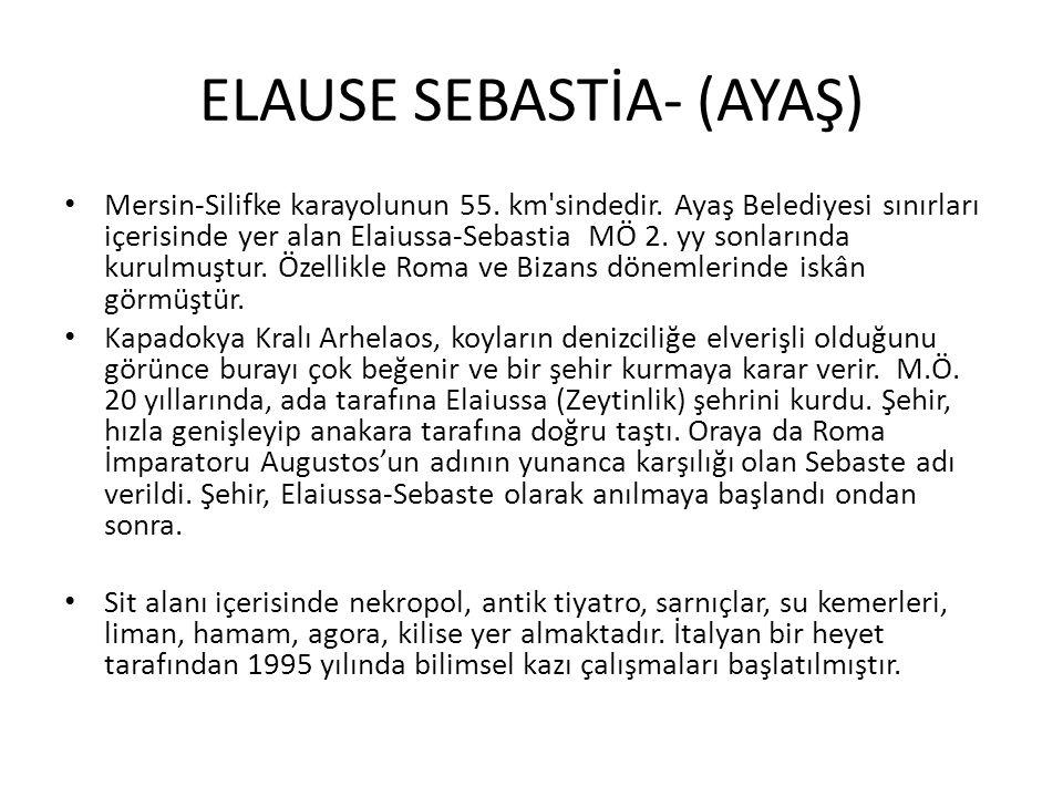 ELAUSE SEBASTİA- (AYAŞ)