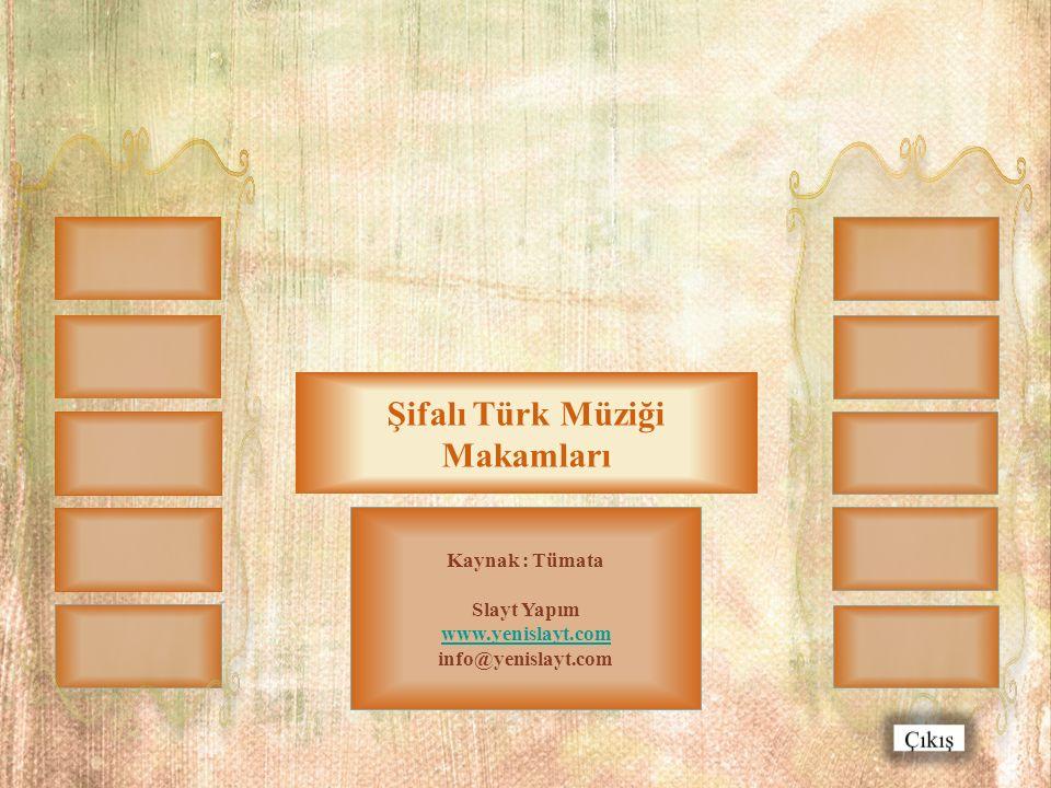 Şifalı Türk Müziği Makamları