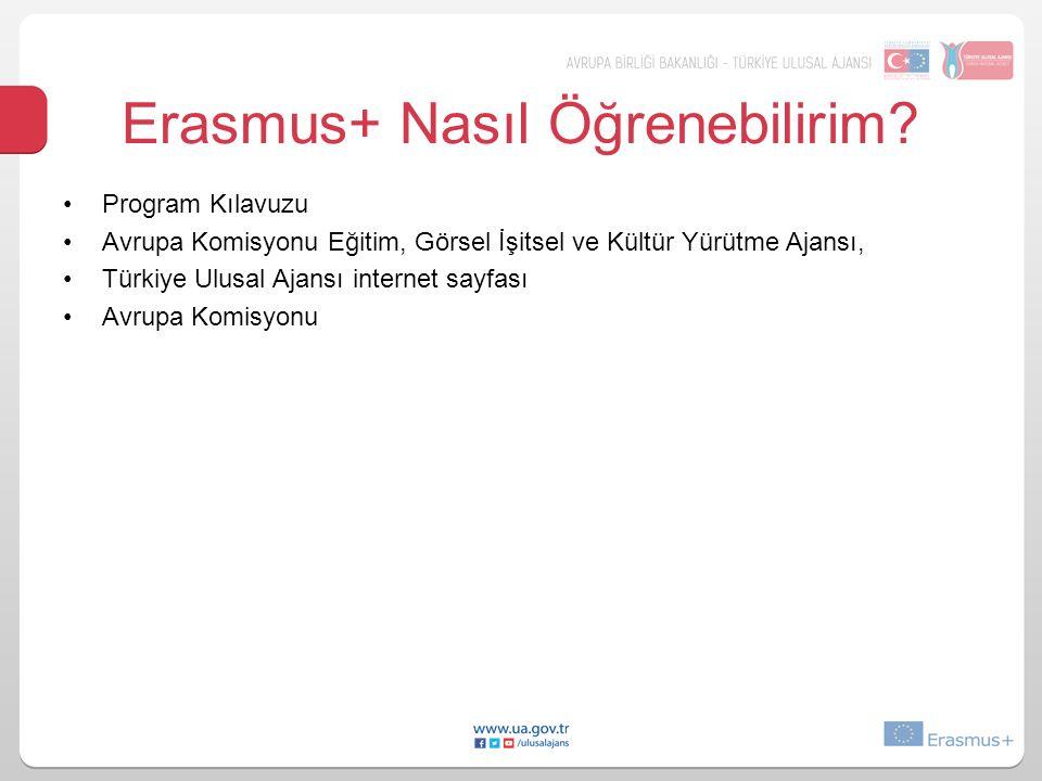 Erasmus+ Nasıl Öğrenebilirim