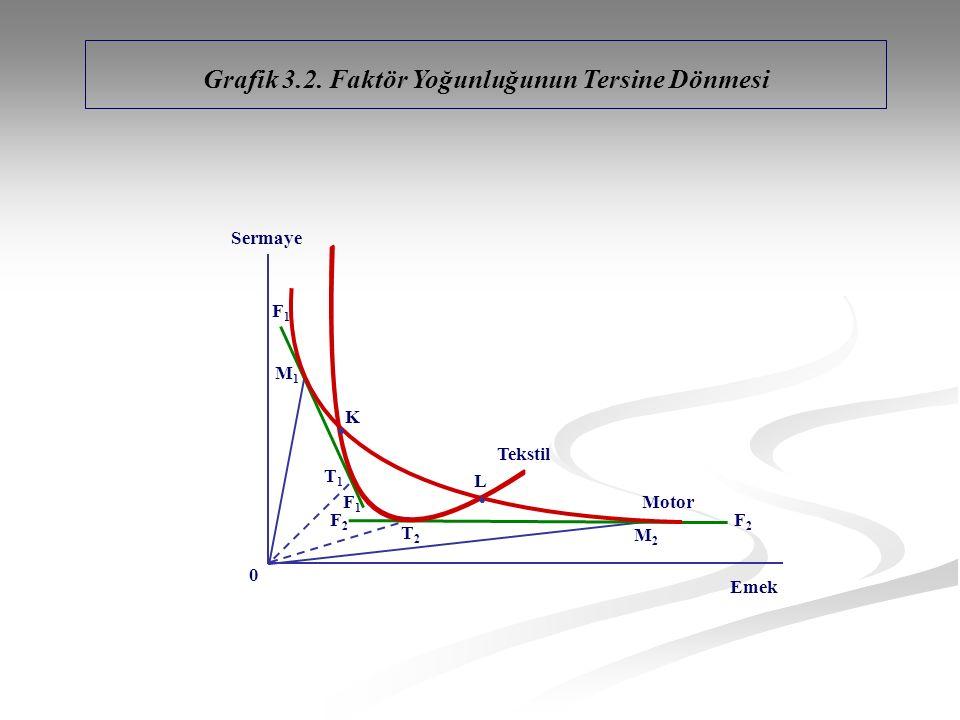 Grafik 3.2. Faktör Yoğunluğunun Tersine Dönmesi