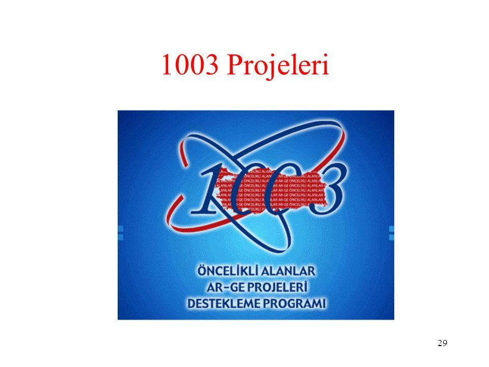 1003 Projeleri